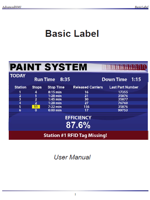 Basic Label Training Manual