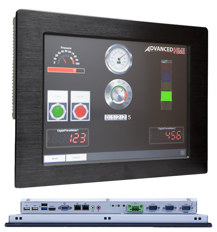 HMI Software by AdvancedHMI, Solution to Monitor and Control PLC Data